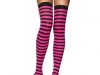 chaussettes-rayures-rose