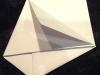 Repliez ensuite le 1er rabat de l'enveloppe...