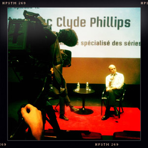 Clyde Phillips au Festival Séries Mania