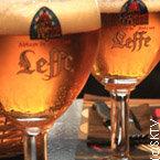 2 verres de Leffe à Bruxelles