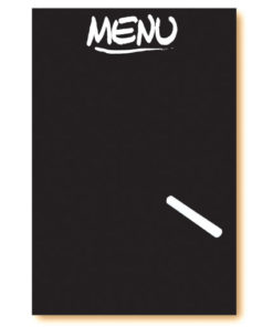 Ardoise menu verticale