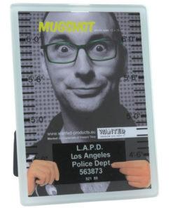 Cadre photo identité judiciaire avec sérigraphie