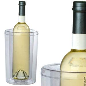 Rafraichisseur de bouteille double paroi