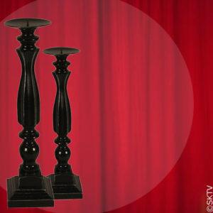 set-chandeliers-bois-noir