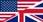 Le picto drapeau britannique indique les produits en langue anglaise