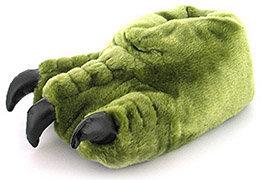 date de sortie: parcourir les dernières collections design de qualité chaussons-monstre-vert - SKTV