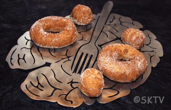 Donuts Potiron Epices : vous ne vous les sortirez plus de la tête !