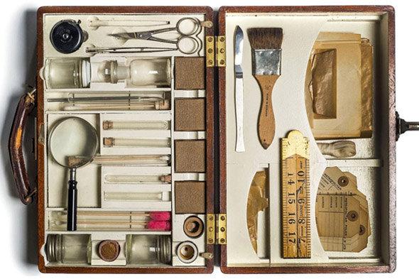 Crime Museum : murder bag (années 40)