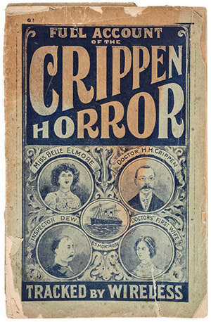 Crime Museum uncovered : Dr Crippen (1910)