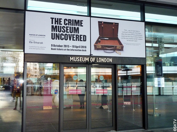 Crime Museum uncovered at The Museum of London