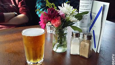 Une bière à la Lock Tavern de Camden Town, à Londres
