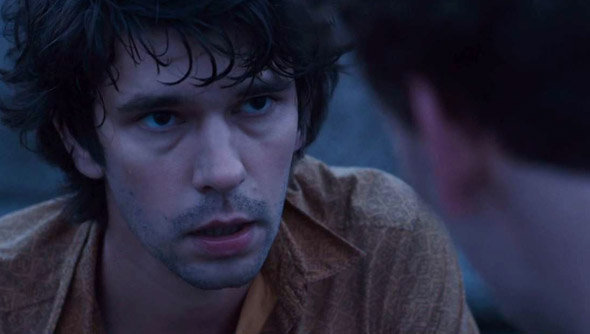 Ben Whishaw dans la série London Spy