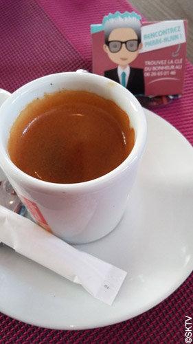 Un petit chocolat avec mon café