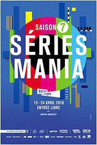 Affiche Festival des séries Séries Mania 2016
