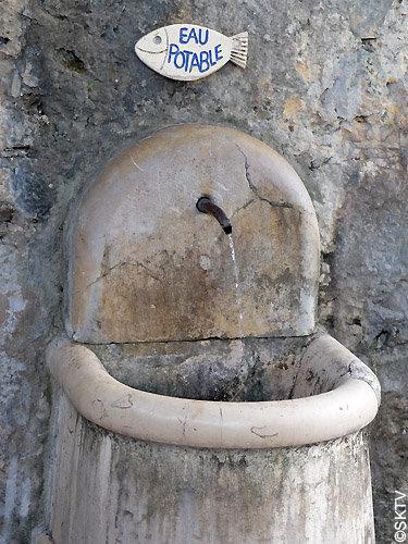 Fontaine à St. Paul de Vence
