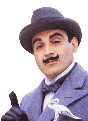L'Affaire de Styles : portrait Hercule Poirot