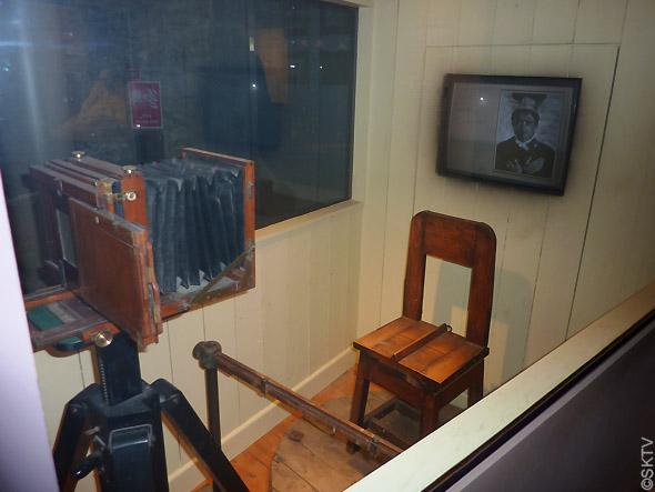 Kilmainham Gaol : mug shot studio