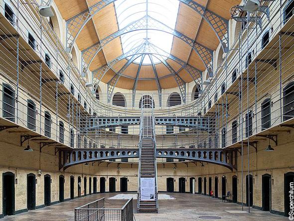 Kilmainham Gaol : panopticon
