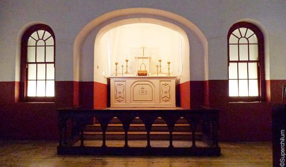 Kilmainham Gaol chapel