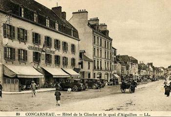 Le Chien jaune de Simenon : vue de l'hôtel de l'Amiral dans les Années 30