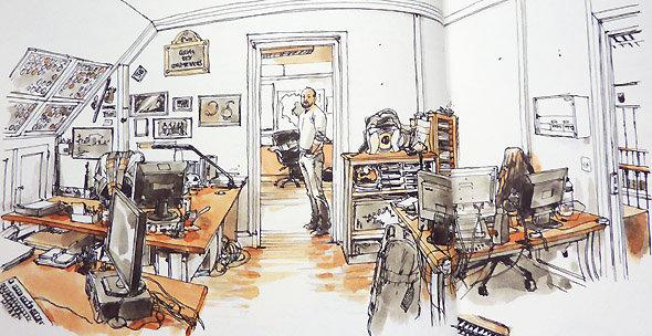 Brigade criminelle de Paris : le 5ème et dernier étage du 36