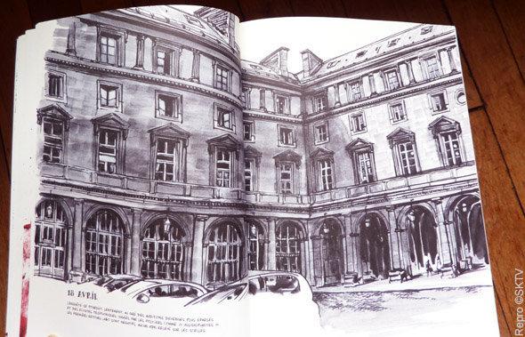 Brigade criminelle de Paris : la cour intérieure