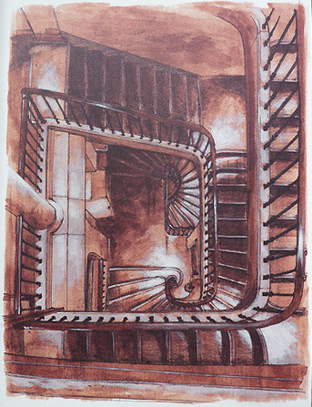 Brigade criminelle : le célèbre escalier du 36
