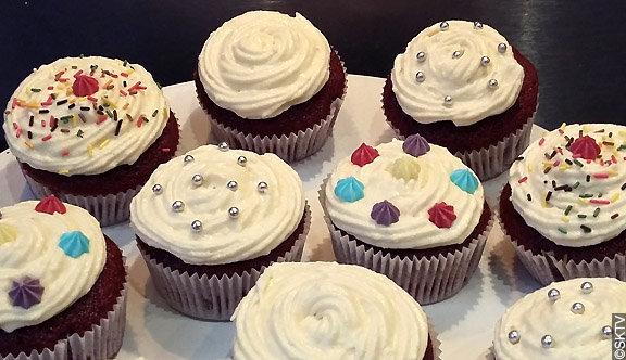 Cupcakes velours