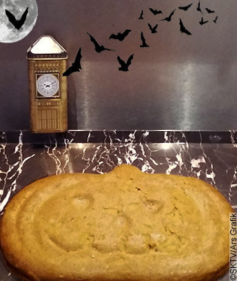 Flan Potiron Coco, spécial Challenge Halloween 2016