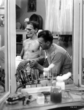 Le Frankenstein de Whale (1931) : Jack PIERCE au maquillage