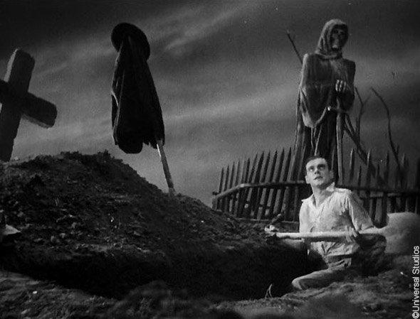 Le Frankenstein de Whale (1931) : la scène du cimetière