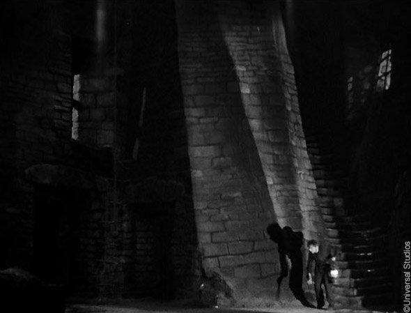 Le Frankenstein de Whale (1931) : le laboratoire de Frankenstein