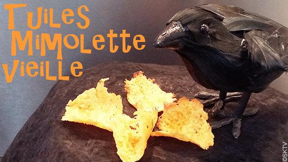 Tuiles Mimolette vieille : recette