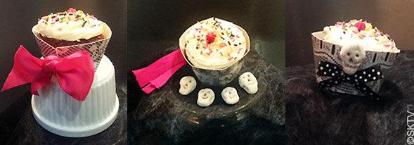 contours cupcakes Halloween : galerie réalisations