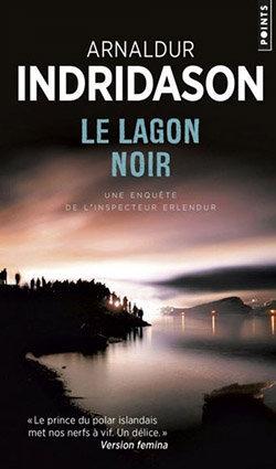 Couverture polar Le Lagon noir Arnaldur Indradison