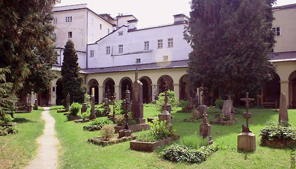 Cimetière St. Sebastian Salzbourg