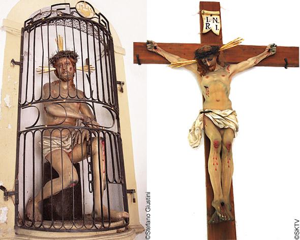 Cimetière St. Sebastian de Salzbourg : Christ en croix