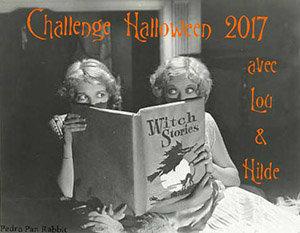 Logo Challenge Halloween 2017 chez Lou & Hilde : les Sorcières