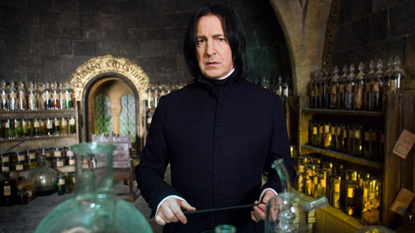 Silhouettes photo Harry Potter : Severus Rogue, professeur de potions