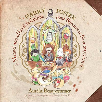 Livre recettes Harry Potter en français : couverture