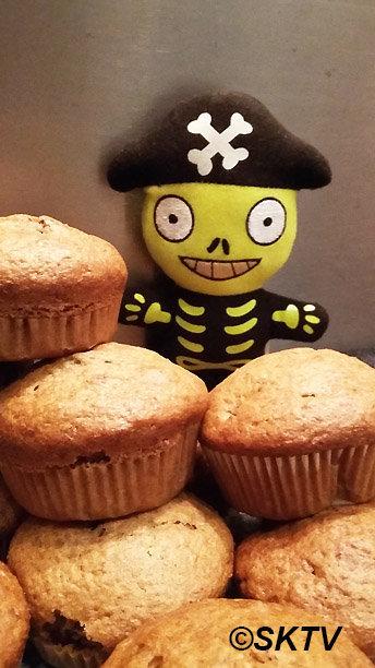 Muffins potiron noix cranberry : on voudrait tous les manger !