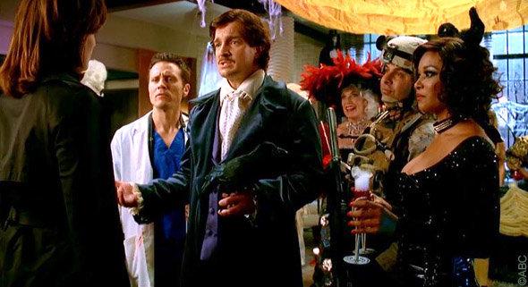 épisode spécial halloween Castle : Kate Beckett n'est pas déguisée
