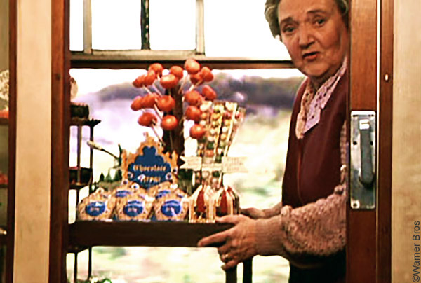 Mr Simms : le chariot à bonbons du Poudlard Express