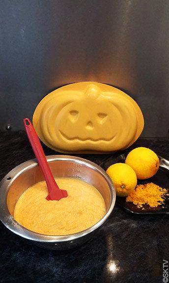 milhassou au potiron : nuances d'orange avec la farine de maïs