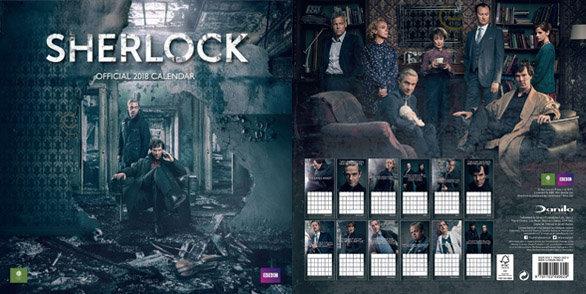 Calendriers séries 2018 : magnifique Sherlock !