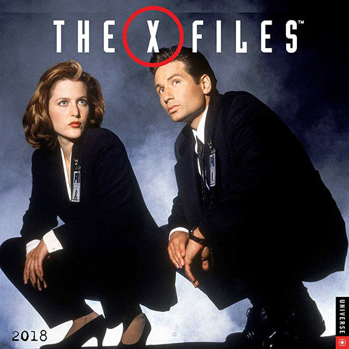 Calendriers séries 2018 : le retour d'X-Files