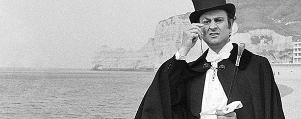 Arsène Lupin L'Aiguille creuse : Georges Descrières à Etretat