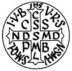 Musée Eden : sur chaque scène de crime de l'éventreur, une inscription extraite de la Croix de Saint-Benoît