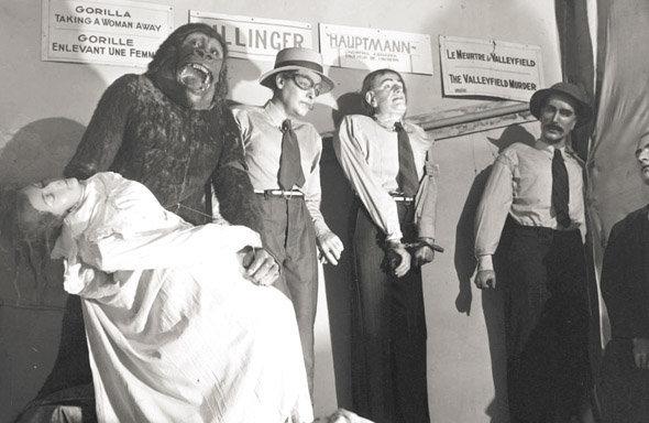 Musée Eden, document d'époque : une scène datant de la fermeture du musée, en 1940
