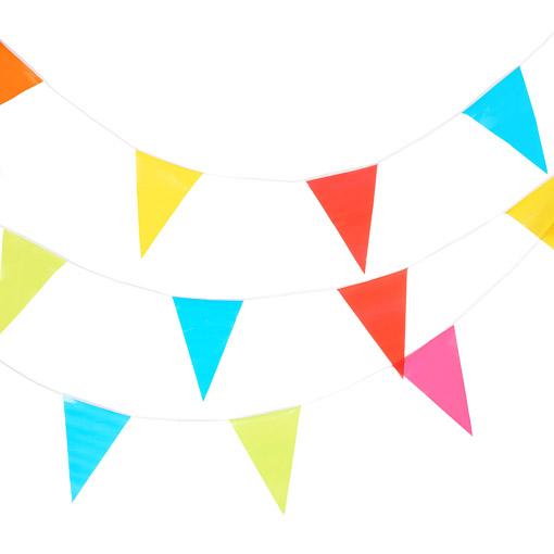 Décorez Votre Fête Avec Une Guirlande De Fanions Multicolores